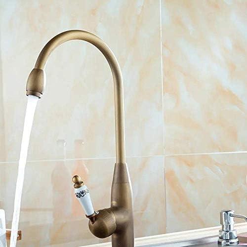ZT-TTHG 流域の蛇口ヨーロッパのキッチンシンクシンクホット&コールド混合銅回転可能な流域の蛇口バスルームにはバスルームタップをタップ