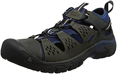 KEEN Australia Men's Arroyo III Trekking Sandal, Empire/Blue Opal, 7 US