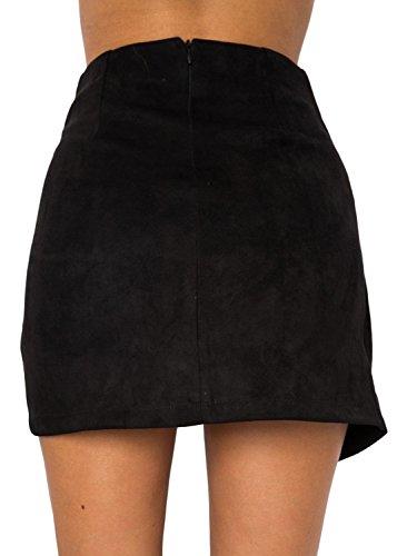 Femme Melegant Noir Melegant Jupe Jupe Jupe Noir Melegant Femme FqRSg