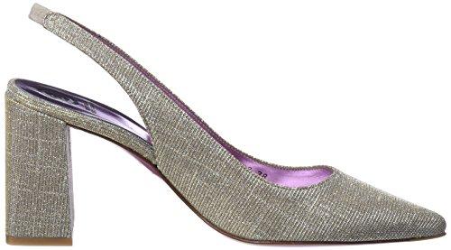 Mascaro Women's 47170 Closed Toe Heels Silver (Galassia Plata Plata) 1Lba3