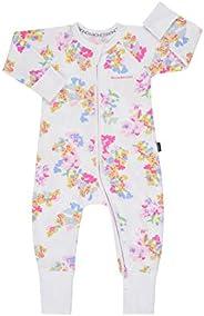 Bonds Zip Wondersuit - Floral White - 6-12 months - 76 cm