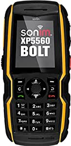 Sonim Bolt XP5560 IP-68 Black AT&T Black Cellphone (Certified Refurbished)
