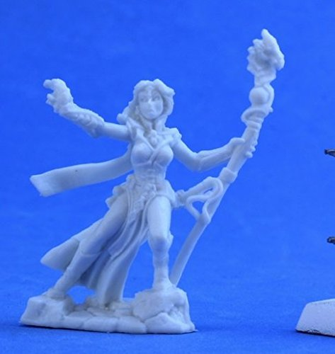 Reaper RM77386 Bones Andriessa, Female Wizard, One Size