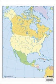 Mapa Politico De America Del Norte.Mapa America Del Norte Politico S A Edigol Ediciones