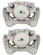AutoShack BC30380PR Pair Set of 2 Front Driver and Passenger Side Disc Brake Caliper Assembly Replacement for 2011 2012 2013 2014 2015 Hyundai Sonata 2011-2016 Kia Optima 2.0L 2.4L FWD