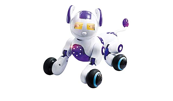 Bapin Smart Robot Dog Voice-Controlled Induction Robot