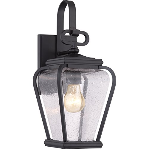 Quoizel PRV8406K Province 1-Light Outdoor Lantern, Mystic - Wall French Lighting Quoizel