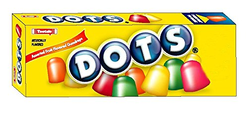 Dots Original Candy  Assorted Flavors  2 25 Ounce Boxes  Pack Of 24