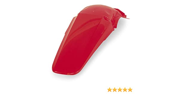 ACERBIS REAR FENDER RED HONDA CR125 CR250 2000-2001