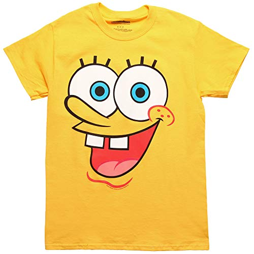 Spongebob Squarepants I Am Spongebob Adult Costume T-Shirt (X-Large)]()