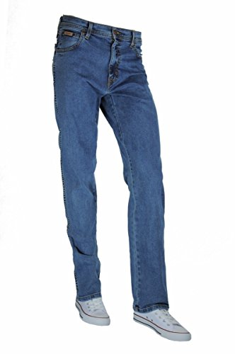 Jeans Grigio 3 Da Texas Scuro Stretch pacco Wrangler Uomo qxEFnRp