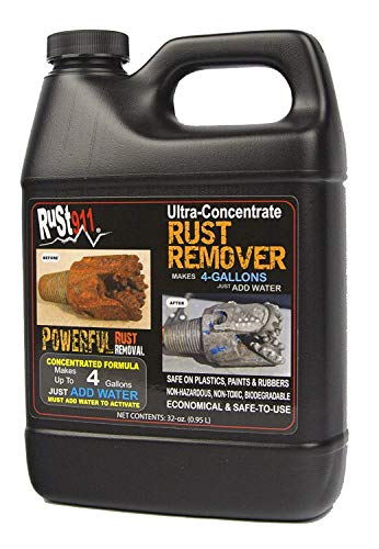Rust911: Rust Remover Makes 4-gallons of Economical, Safe-to-Use and Powerful Cleaner for All Your Oxidation Removal Treatment