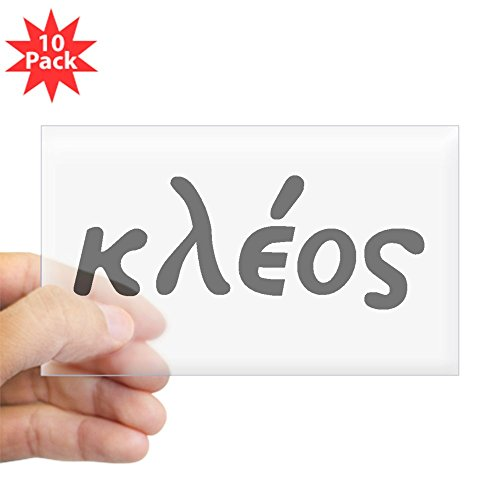 CafePress - Kleos - Rectangle Bumper Sticker (10-pack), Car - Accessories Kleo