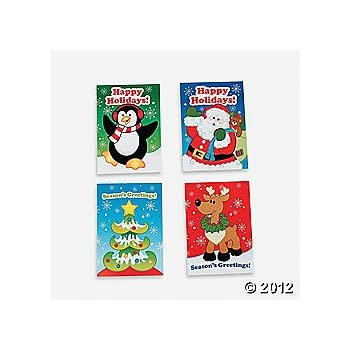 """36 MINI HOLIDAY FUN and GAMES Activity BOOKS/Stocking STUFFERS/PARTY FAVORS/TEACHERS/Daycare/2 1/2"""" x 3 1/2"""""""