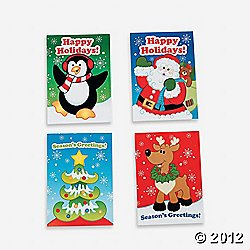 36 MINI HOLIDAY FUN and GAMES Activity BOOKS/Stocking STUFFERS/PARTY FAVORS/TEACHERS/Daycare/2 1/2 x 3 1/2 by FX (Favors Christmas Party)