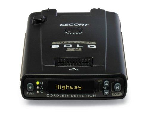 Escort Solo S3 Cordless Radar Detector by Escort