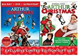 Arthur Christmas LIMITED EDITION Gift Set Blu-ray / DVD / Ultraviolet Includes BONUS DISC Featuring Justin Bieber Video