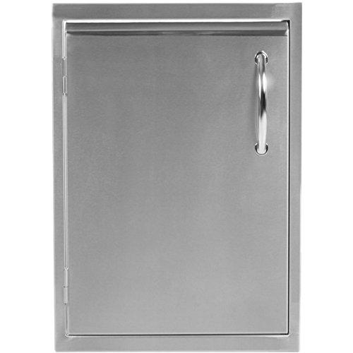 Luxor Medallion 14-Inch Left-Hinged Single Access Door - Vertical - AHT-ADM-2014VR