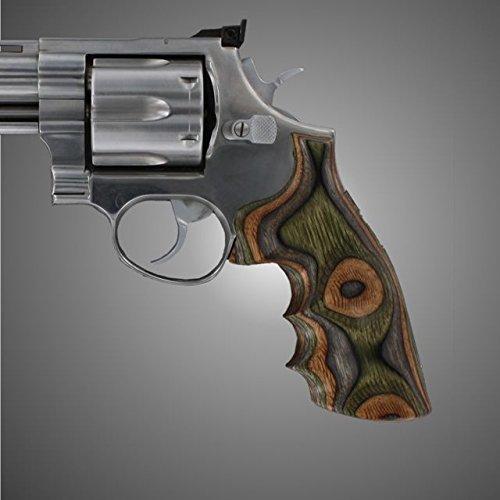 Hogue Taurus Med. & Lg. Sq. Butt Lamo Camo Gun Grips ()