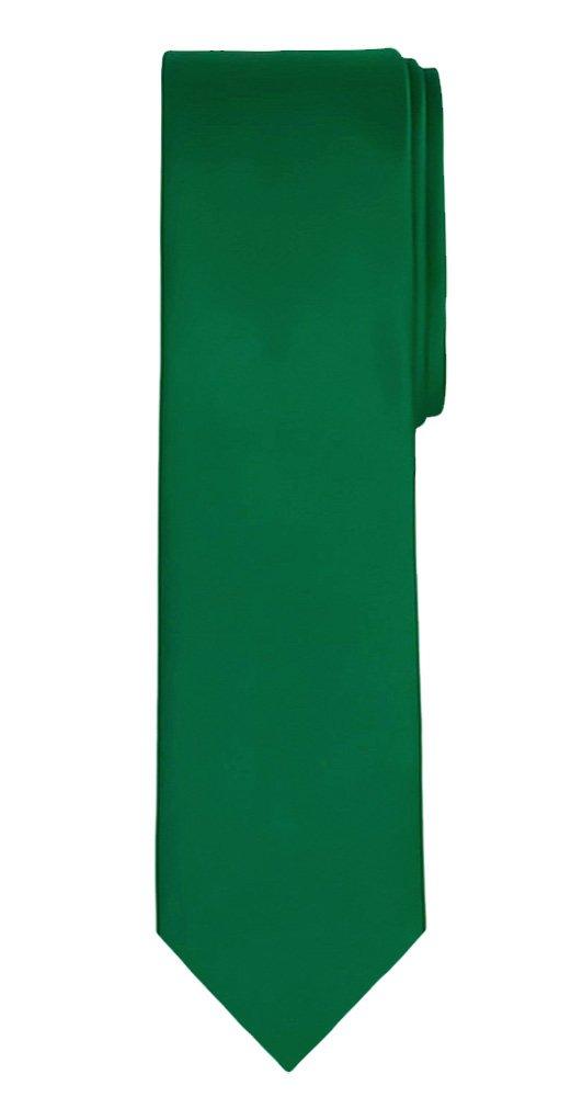 Sky Jacob Alexander Mens Extra Long Solid Color Tie