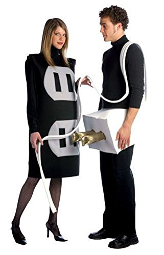 Adult Size Plug & Socket Couples Costumes - Two Costumes in One -