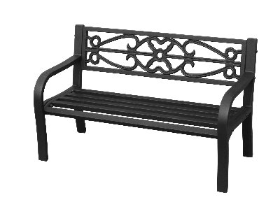 Imperial Power Co IP-D8812K Four Seasons Courtyard Kid's Steel Bench
