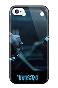 Tpu Andrea Shockproof Scratcheproof Tron Legacy Hard Case Cover For Iphone 4/4s