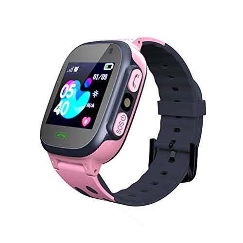 Smartwatch voor kinderen LBS Tracker Smartwatch met zaklampen Anti-verloren spraakchat voor jongens Meisjes…