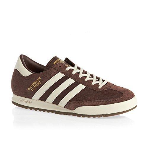 Adidas Originals Beckenbauer Deportes Hombre Zapatillas Casual - Marron, 42 EU: Amazon.es: Zapatos y complementos