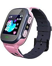 Smartwatch voor kinderen LBS Tracker Smartwatch met zaklampen Anti-verloren spraakchat voor jongens Meisjes Verjaardagscadeaus Kids Smartwatch LBS Tracker