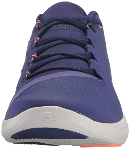 Training Nvt Cys Women's Under Nvt Gray Purple Low Sneaker Precision M US Glacier Armour Shoes Europa Street 5XzUz8xq