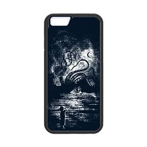 Kraken Carnage iPhone 6 4.7 Inch Cell Phone Case Black Ockgx