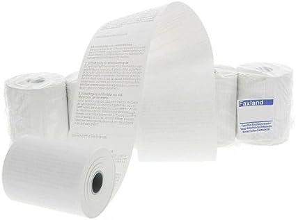 EC-Cash Rollen Thermorollen Lastschrifttext 57mm alle Durchmesser alle Längen