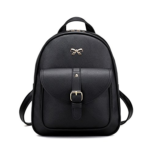 Shoulder Gray Bag School Womens Brezeh Tote Handbag Backpack 4 Bag Messenger Bag Sets Black Travel xxqTICB