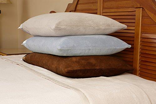 Microfiber Luxury Coral Fleece Bed Sheet Set 6 pieces (Qu...