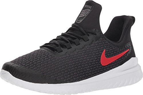 (Nike Mens Renew Rival Black University RED Grey Size 13)