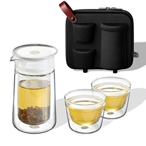 ZENS Travel Tea SetGlass