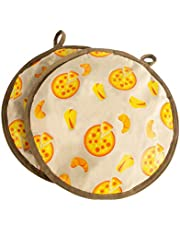 Tortilla Keeper - 12 Inch Tortilla Insulation Bag Tortilla Warmer Insulated and Microwaveable Fabric Holder Pouch Keeps Warm Up to One Hour for Corn Or Flour Taco, Pizza, Bread