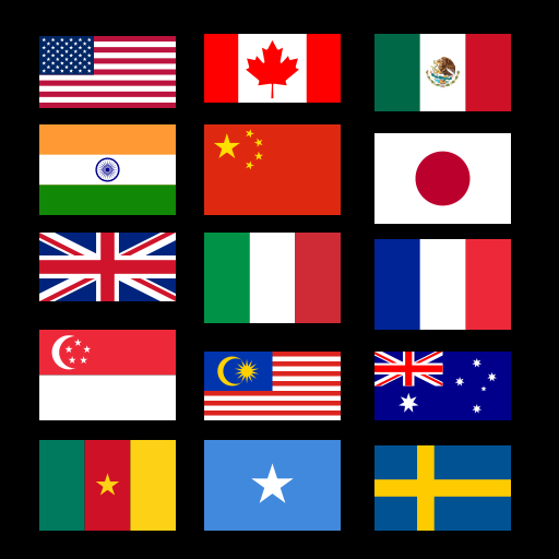 Amazon.com: Country Flags: Appstore for Android