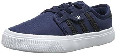 adidas Originals Seeley I Infant Shoe (Toddler), Collegiate Navy/Black/White, 7 M US Toddler