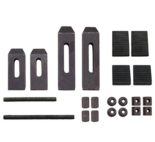 24 Piece Clamping Kit For Small Milling Machines With 0.305″ Table Slots Review