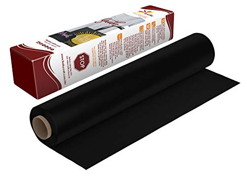 - Firefly Craft Heat Transfer Vinyl HTV 12x20, Black