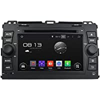 7 Inch Quad Core 1024*600 Android 5.1 Car DVD GPS Navigation Player for TOYOTA PRADO 2006-2010 With Radio Bluetooth 3G Wifi Steering Wheel Control