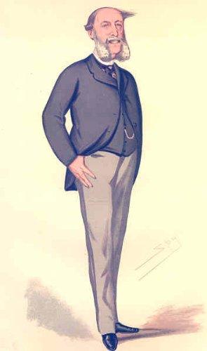 GERMANY: MUNSTER German Ambassador. Vanity Fair Spy cartoon 1876