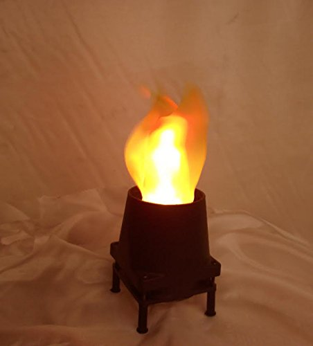Flame Light Burning Torch 4in1 Battery Operated Fake