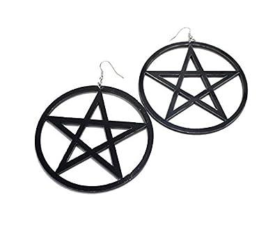 hemore Pendientes Mujer pentagrama pendientes joyas regalo Idea para mujeres Freundin Madre Hija purpurina Kristall Ohrstecker Mujer: Amazon.es: Joyería