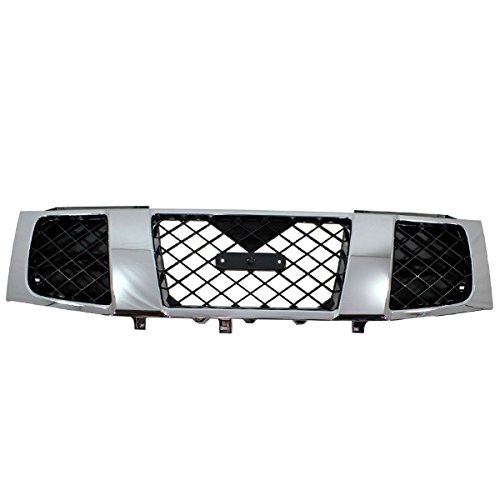 (Koolzap For Front Grill Grille Assembly NI1200210 623107S200 04-07 Titan Pickup Truck)