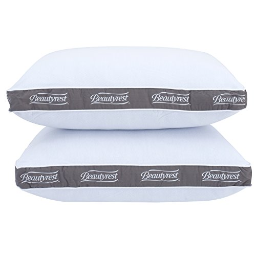 Beautyrest Bed Pillow - Beautyrest Luxury Spa Comfort Queen Pillow Set of 2