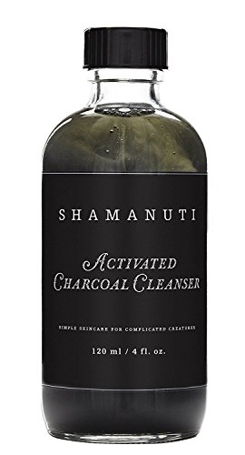 Shamanuti - Organic Activated Charcoal Cleanser (4 oz)
