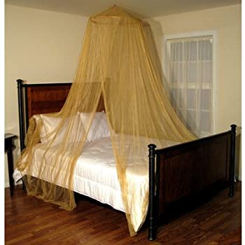 Casablanca Oasis Round Bed Canopy Net & Amazon.com: Casablanca Oasis Round Bed Canopy Net: Baby